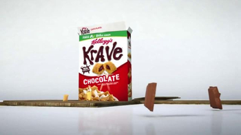Kellogg's Krave TV Spot, 'Monstrously Good' - Thumbnail 5