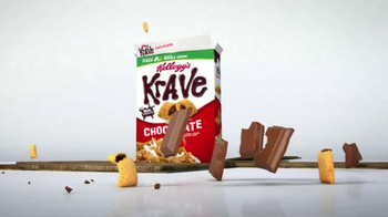 Kellogg's Krave TV Spot, 'Monstrously Good' - Thumbnail 6