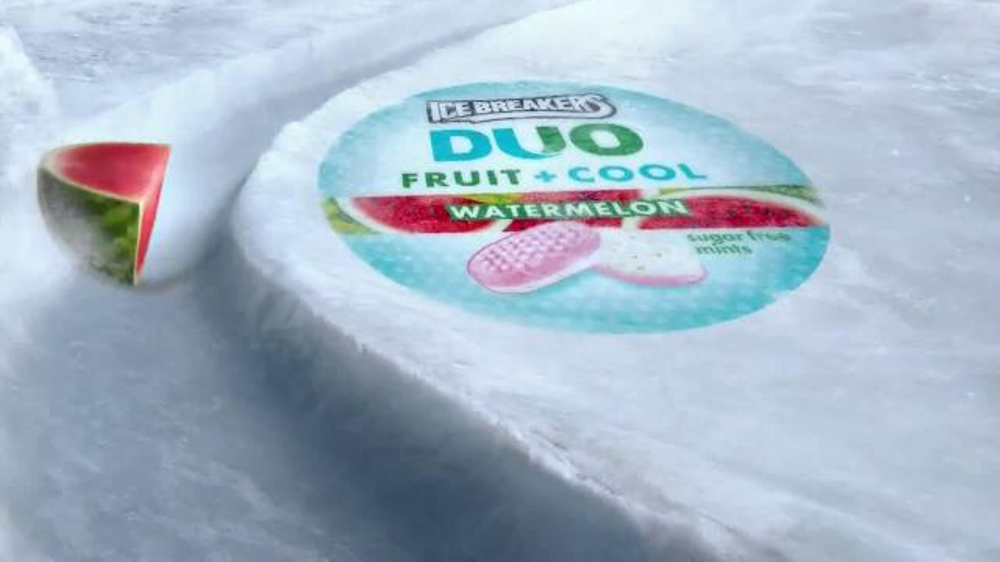 ice breakers duo fruit cool tv commercial melon louge song by vanilla ice ispottv