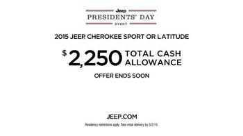 Jeep Presidents Day Event TV Spot, 'Historic Sales' - Thumbnail 9