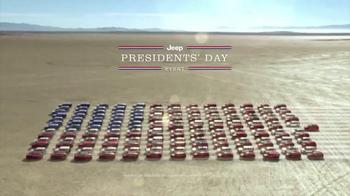 Jeep Presidents Day Event TV Spot, 'Historic Sales' - Thumbnail 7