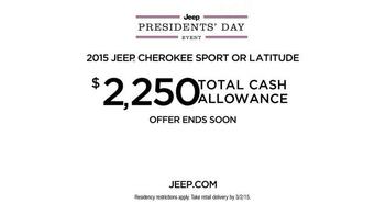 Jeep Presidents Day Event TV Spot, 'Historic Sales' - Thumbnail 8