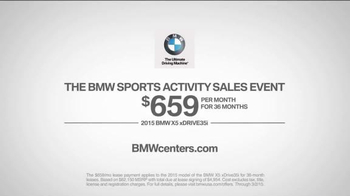 BMW Sports Activity Sales Event TV Spot, 'Back-Backseat Drivers' - Thumbnail 7