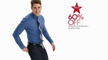 Macy's Super Saturday Sale TV Spot, 'Diamonds, Dress Shirts, and Ties' - Thumbnail 4