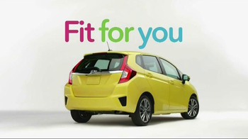 2015 Honda Fit TV Spot, 'Biker, Fortune, Cup, Meerkat' - Thumbnail 7