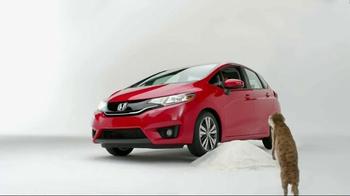 2015 Honda Fit TV Spot, 'Biker, Fortune, Cup, Meerkat' - Thumbnail 6