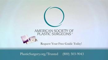 American Society of Plastic Surgeons TV Spot, 'Trusted' - Thumbnail 8