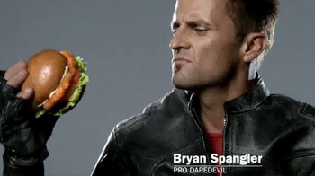 Carl's Jr. Big Chicken Sandwich TV Spot Ft. Bryan Spangler