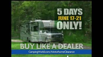 Camping World Motorhome Clearance Event TV Spot - Thumbnail 3
