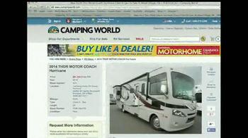 Camping World Motorhome Clearance Event TV Spot - Thumbnail 4