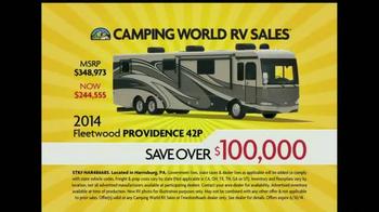 Camping World Motorhome Clearance Event TV Spot - Thumbnail 7