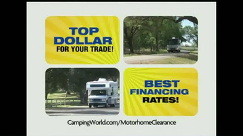 Camping World Motorhome Clearance Event TV Spot - Thumbnail 8