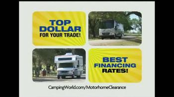Camping World Motorhome Clearance Event TV Spot - Thumbnail 9
