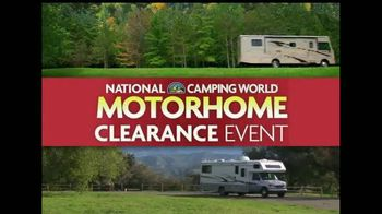 Camping World Motorhome Clearance Event TV Spot - 25 commercial airings