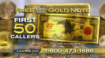 Lear Capital TV Spot, 'Add Gold to your IRA' - Thumbnail 9