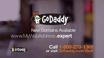 GoDaddy TV Spot, 'Theresa' - 70 commercial airings