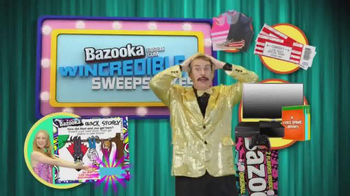 Bazooka Joe Fab Flavor Gum TV Spot, \'Sweepstakes\'
