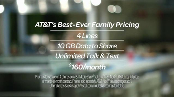 AT&T Best-Ever Family Pricing TV Spot, 'Food Court' - Thumbnail 10