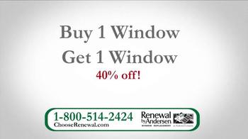 Renewal by Andersen TV Spot, 'Buy 1 Window, Get 1 Window 40% Off' - Thumbnail 7