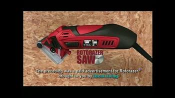 Ideal Living Rotorazer Saw TV Spot