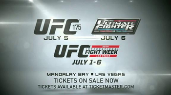 2014 UFC International Fight Week TV Spot - Thumbnail 7