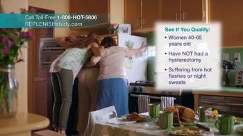 Replenish TV Spot, 'Hot Flash Research Study' - Thumbnail 6