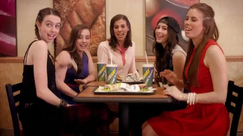 Subway TV Spot, 'Pile It On' Featuring Cimorelli