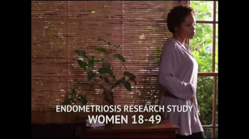 Solstice Study TV Spot, 'Endometriosis'