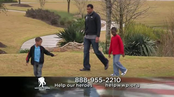Wounded Warrior Project TV Spot Featuring Nestor Serrano - 89 commercial airings