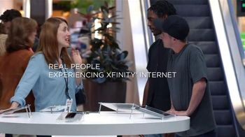 Xfinity X1 Triple Play TV Spot, 'Real People Wifi Test'