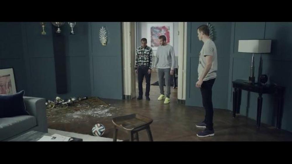 Adidas TV Commercial, 'House Match' Featuring David Beckham