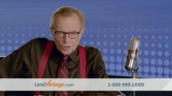 LendVantage TV Spot Featuring Larry King - Thumbnail 1