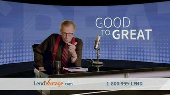 LendVantage TV Spot Featuring Larry King - Thumbnail 2