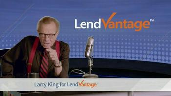 LendVantage TV Spot Featuring Larry King - Thumbnail 3