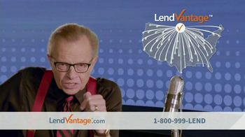 LendVantage TV Spot Featuring Larry King - Thumbnail 5