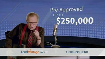 LendVantage TV Spot Featuring Larry King - Thumbnail 6