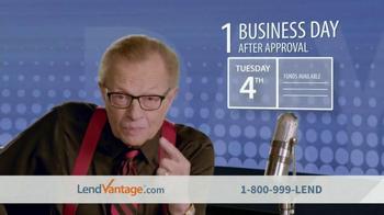 LendVantage TV Spot Featuring Larry King - Thumbnail 7