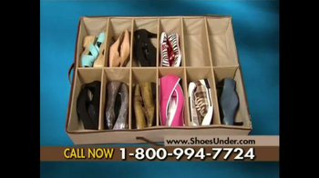 Shoes Under TV Spot
