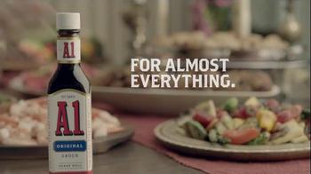 A1 Steak Sauce TV Spot, 'Cheek Kisser' - Thumbnail 7
