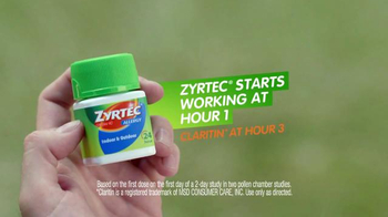 Zyrtec Indoor & Outdoor Allergy Relief TV Spot, 'Muddle No More' - Thumbnail 7