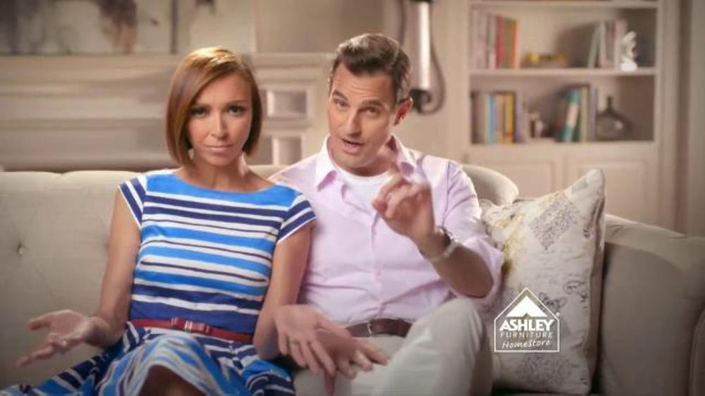 Ashley Furniture Stars U0026 Stripes TV Commercial Ft. Giuliana And Bill Rancic    ISpot.tv