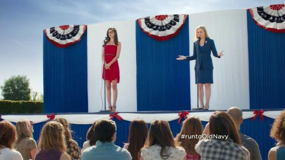 Old Navy TV Commercial, 'Stump Speech' Featuring Amy Poehler