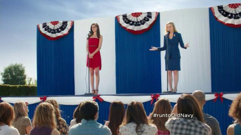 Old Navy TV Spot, 'Stump Speech' Featuring Amy Poehler - 900 commercial airings