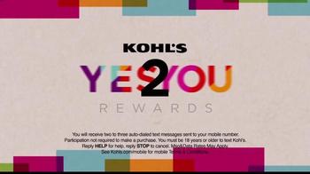Kohl's Yes 2 You Rewards TV Spot, 'You Shop. You Earn.' - Thumbnail 8