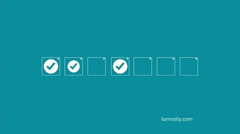 Lumosity TV Spot, 'Personal Trainer for Your Brain' - Thumbnail 8