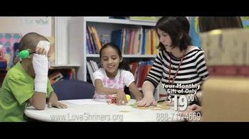 Shriners Hospitals For Children TV Spot Featuring & Song by Chris Daughtry - Thumbnail 5