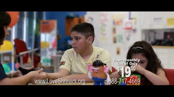 Shriners Hospitals For Children TV Spot Featuring & Song by Chris Daughtry - Thumbnail 6