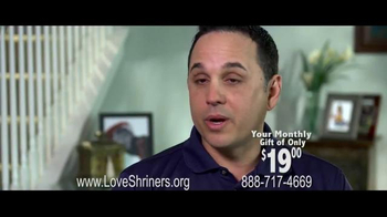 Shriners Hospitals For Children TV Spot Featuring & Song by Chris Daughtry - Thumbnail 8