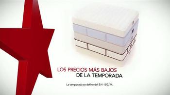 Macy's La Venta Del 4 De Julio TV Spot, 'Colchones' [Spanish] - Thumbnail 2