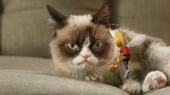 Honey Nut Cheerios TV Spot, 'Buzz Meets Grumpy Cat'  - Thumbnail 7